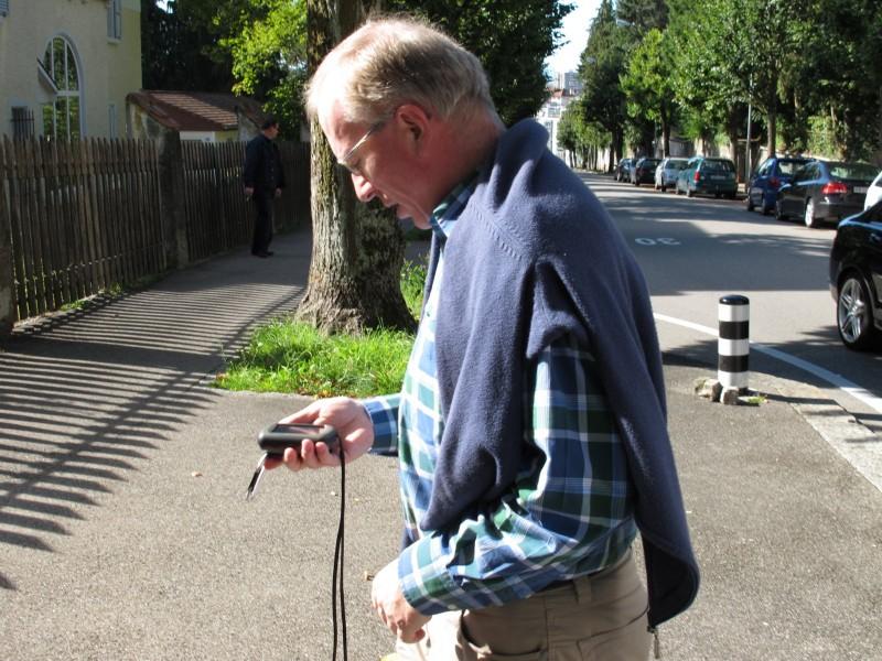 Unser Wanderstern mit GPS Garmin