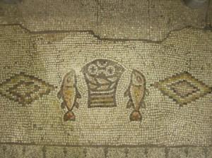 Mosaik in der Kirche von Tabgha